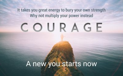 It takes great energy for you to bury your own strength